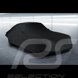 Housse de protection intérieur Indoor car cover Fahrzeugabdeckung Porsche 911 / 912 Classic Type F noire black schwarz Qualité P
