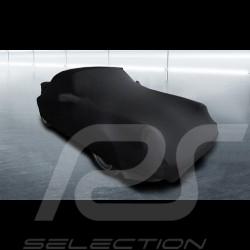Housse de protection intérieur Indoor car cover Fahrzeugabdeckung Porsche 911 Turbo 3.0 / 3.3 noire Black Schwarz Qualité Premiu