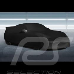 Housse de protection intérieur Indoor car cover Fahrzeugabdeckung Porsche Cayman GT4 noire Black Schwarz Qualité Premium