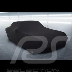 Indoor Fahrzeugabdeckung Porsche Cayman GT4 schwarz Premium Qualität