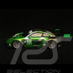 Porsche 911 GT3 R type 991 Sieger Daytona 2016 n° 540 Black swan 1/43 Spark US014