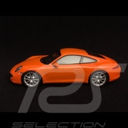 Porsche 911 Carrera S type 991 orange Gulf 1/43 Minichamps 940060221