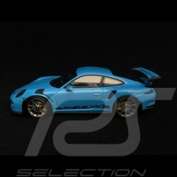 Porsche 911 GT3 RS type 991 2014 riviera blau 1/43 Minichamps 410063222