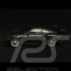Porsche 911 GT3 RS type 991 2014 british racing green 1/43 Minichamps CA04316100