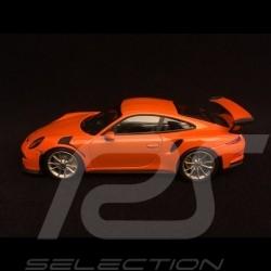 Porsche 911 GT3 RS type 991 2014 orange Gulf  1/43 Minichamps CA04316102