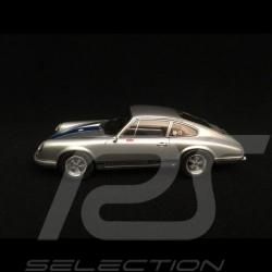 Porsche 911 68R Magnus Walker metallic silbergrau / blau 1/43 Schuco 450891600