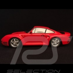 Porsche 959 1987 rouge red rot 1/18 Minichamps 155066200