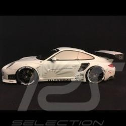 Porsche 997 LB performance 2010 Hellgrau matt 1/18 GT SPIRIT GT126