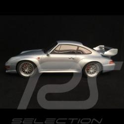 Porsche 911 type 993 GT 1996 polar grey 1/18 GT SPIRIT ZM098