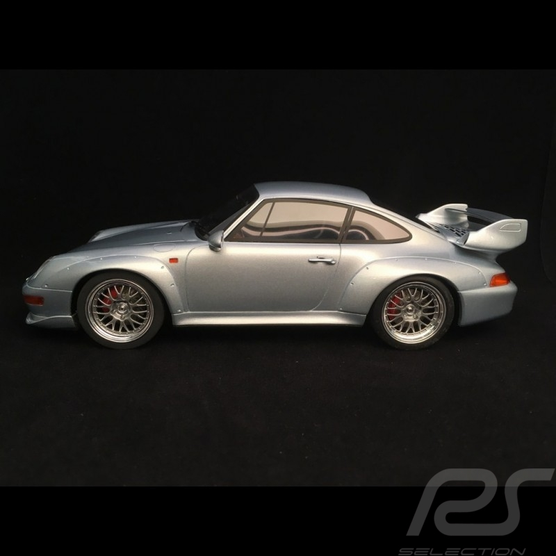Porsche 911 type 993 GT 1996 gris polaire polar grey polargrau 1/18 GT SPIRIT ZM098