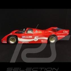 Porsche 962 IMSA vainqueur winner Sieger Sebring 1986 n° 5 Coke 1/18 Norev 187409