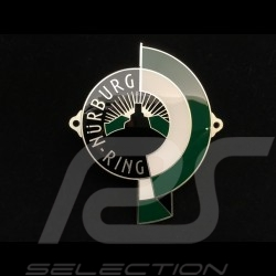 Badge de grille Grillbadge Nürburgring 3 couleurs colours Farben émail à froid cold enamel kaltemailliert