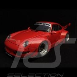Porsche 911 type 993 RWB Naginata red gun 1/18 Autoart 78153
