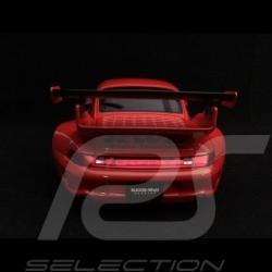 Porsche 911 type 993 RWB Naginata rouge canon red gun rot 1/18 Autoart 78153