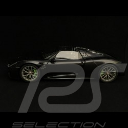 Porsche 918 Spyder 2015 black 1/18 Autoart 77928