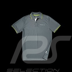 Polo Porsche Golf Collection gris vert Porsche Design WAP542 - homme