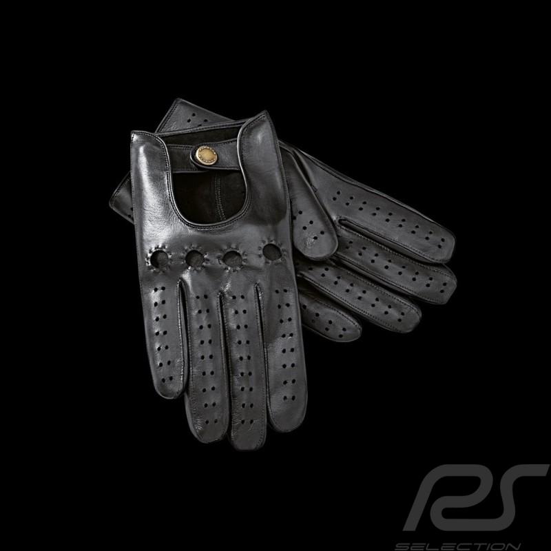 Gants de conduite Driving gloves Fahrhandschuhe Porsche classiques classic klassische en cuir leather Leder homme men herren