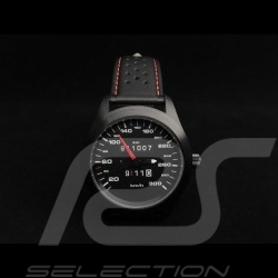 Porsche 911 300 km/h speedometer Automatic Watch black case / black dial