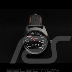 Porsche 911 300 km/h Tachometer Automatikwerk Uhr schwarz Gehause / schwarz Wahl