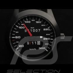 Porsche 911 300 km/h speedometer Automatic Watch black case / black dial