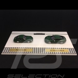 Set 1 000 000 1 million Porsche 911 1963 - 2017 Irish green 1/43 Spark WAX02400003