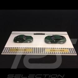 Set 1 000 000 Porsche 911 1963 - 2017 Brewster green 1/43 Spark WAX02400003