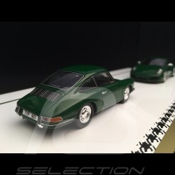 Set 1 000 000 1 Million Porsche 911 1963 - 2017 Irish green 1/43 Spark WAX02400003