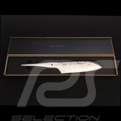 Couteau Knife Messer Porsche Type 301 HM Santoku 17.8 cm Design by F.A. Porsche Chroma P02HM
