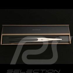 Fourchette à découper Porsche Design Type 301 Design by F.A. Porsche 17 cm Chroma P17 Carving fork Bratengabel