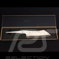 Knife Type 301 HM Design by F.A. Porsche Hakata Santoku knife 19 cm Chroma P40HM