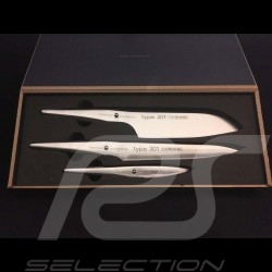 Coffret de couteaux Knives Set Messerset Porsche Design Type 301 Design by F.A. Porsche Chroma P529