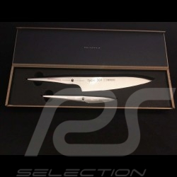 Coffret de couteaux Knives Set Messerset Porsche Design Type 301 Design by F.A. Porsche Duo Chef Chroma P918
