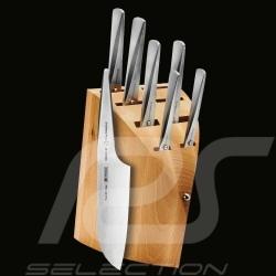 Bloc en bois pour 8 couteaux Porsche Design Type 301 Design by F.A. Porsche Chroma P12