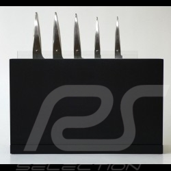 Block for 5 knives Porsche Design Type 301 Design by F.A. Porsche DISPP