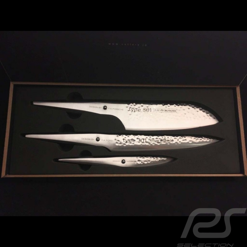 Coffret de couteaux Knives Set Messerset Porsche Design Type 301 HM Design by F.A. Porsche Chroma P529HM