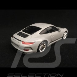 Porsche 911 R type 991 2016 gris Fashion grey grau 1/43 Minichamps CA04316098