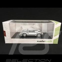 Porsche 550 Durlite Spyder 1959 silver 1/43 Autocult 07007