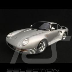 Porsche 959 1987 silver grey 1/18 Minichamps 155066201