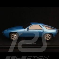 Porsche 928 bleu Minerva métallisé 1/18 Autoart MAP02104008