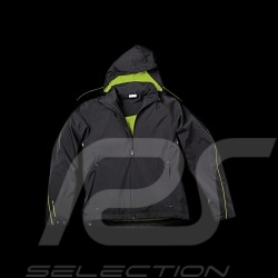 Veste jacket Jacke Porsche coupe-vent windbreaker Sport Collection noir / Vert acide Porsche Design WAP543 - homme