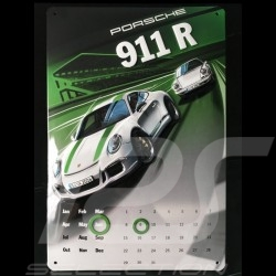 Calendrier Calendar Kalender Porsche 911 R métal - perpétuel Porsche Design WAX050000003