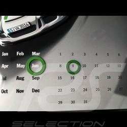 Calendar Porsche 911 R metal - perpetual Porsche Design WAX05000003