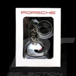 Porte-clé casque helmet Helm Porsche 911 RSR / 919 Hybrid N° 1 blanc 1/12 keyring Schlusselanhanger Spark  WAX01012017