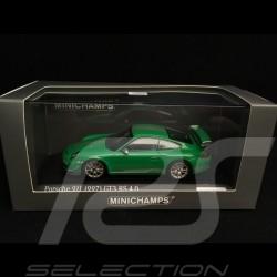 Porsche 911 GT3 RS 4.0 type 997 vert vipère 1/43 Minichamps CA04316053 Viper green Vipergrün