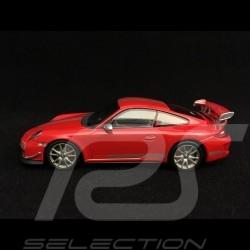 Porsche 911 GT3 RS 4.0 997 rouge indien 1/43 Minichamps CA04316050 ndian red indischrot