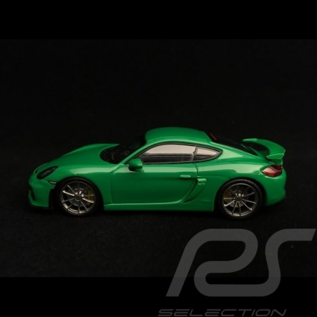 Porsche Cayman GT4 2016 Viper green 1/43 Minichamps CA04316076