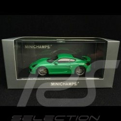 Porsche Cayman GT4 2016 vert vipère 1/43 Minichamps CA04316076 Viper green Vipergrün
