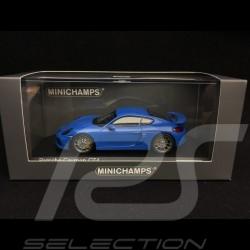 Porsche Cayman GT4 2016 Voodoo blau 1/43 Minichamps CA04316074