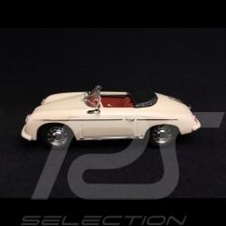 Porsche 356 A Speedster 1956 ivoire Hünerbein Hausmesse 1/43 Minichamps