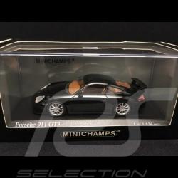 Porsche 911 type 996 GT3 phase II 2003 noire black schwarz 1/43 Minichamps 400062024